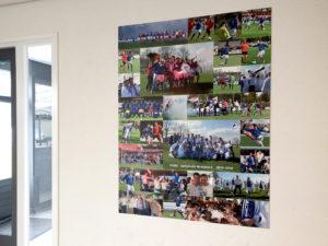 Overwinnaars collage Voetbalvereniging SvSSS.