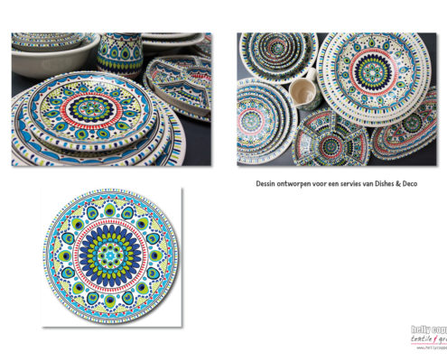 design for ceramics Dishes&Deco