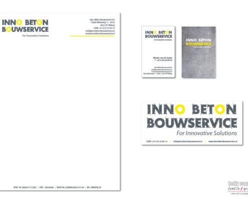 corporate identity Inno Beton Bouwservice