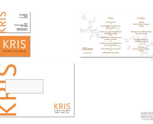 corporate indentity Kris Studio Culinair